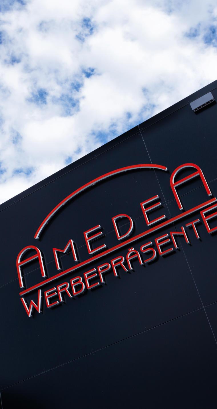 Amedea Werbepräsente - Firmengebäude