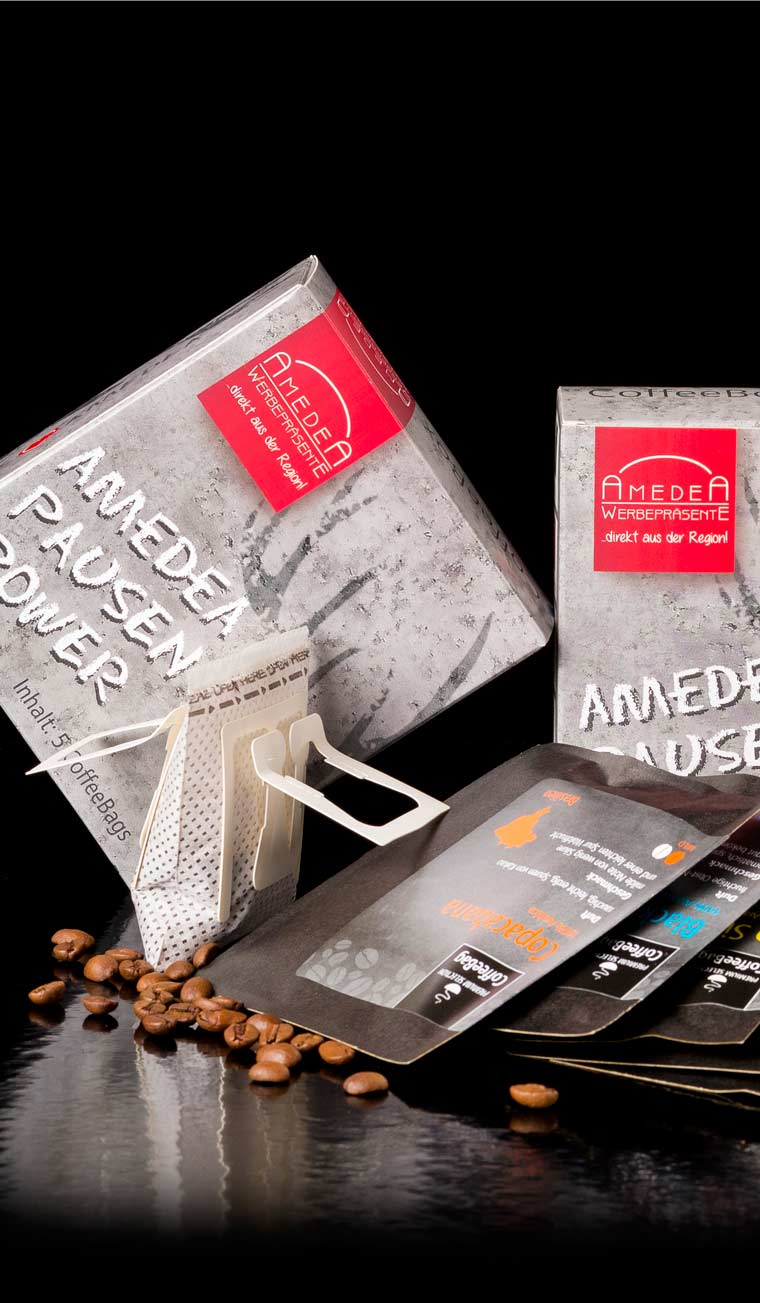 AmedeA Werbegeschenke in München -Pausen Power